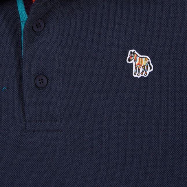 Boys Navy Ridley S/s Polo Shirt