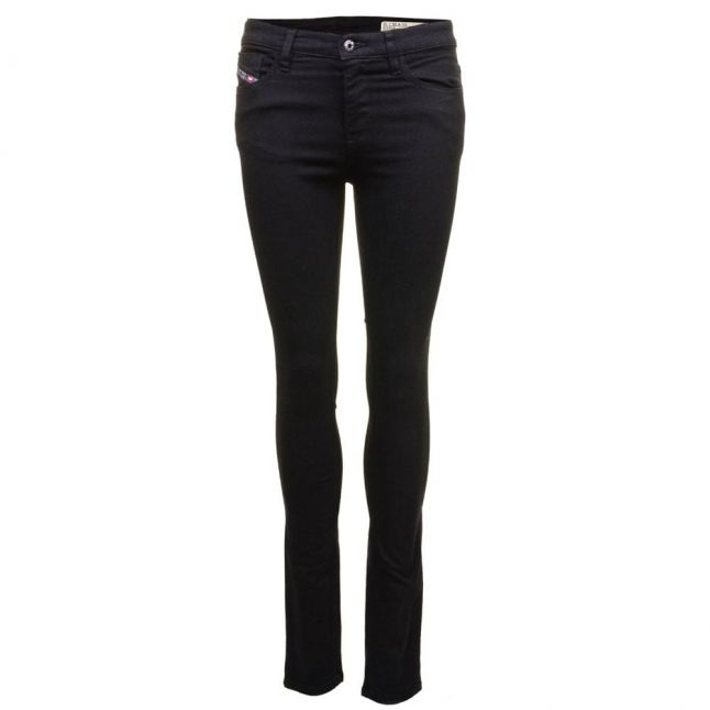 Womens Black Wash Skinzee Super Skinny Fit Jeans