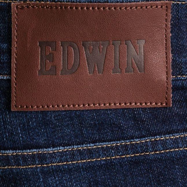 Mens 11oz F8.DT Blue Dark Trip Used Wash ED-80 Slim Tapered Fit Jeans