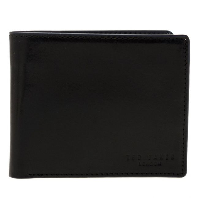 Mens Black Thumbs Bifold Wallet