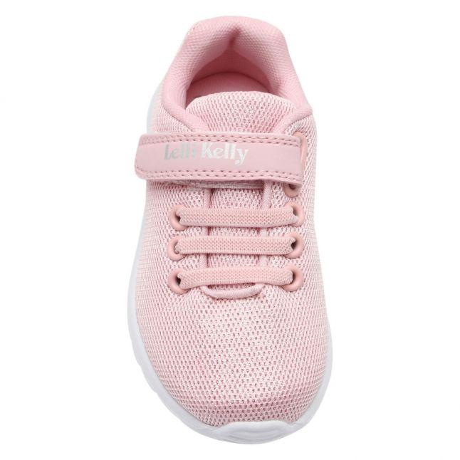 Girls Pink Glenda Trainers (25-35)