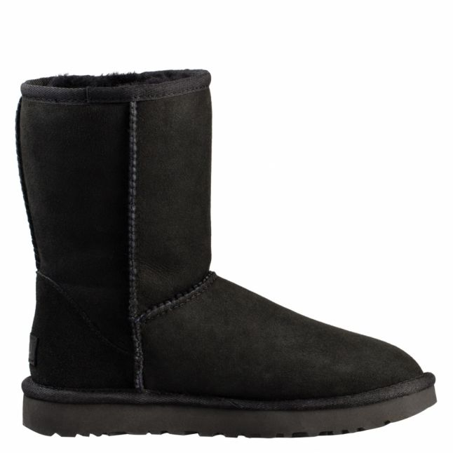 Womens Black Classic Short II Boots