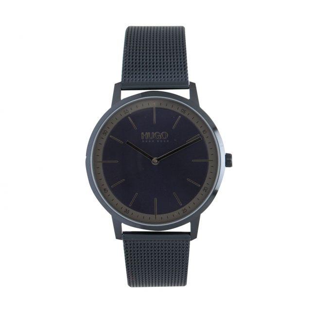 Mens Dark Blue Exist Bracelet Watch
