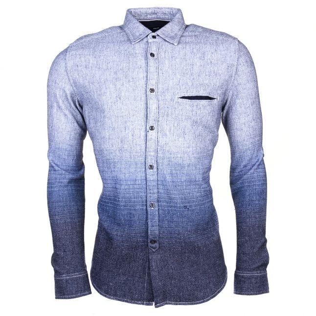 Mens Blue S-Miramar L/s Shirt