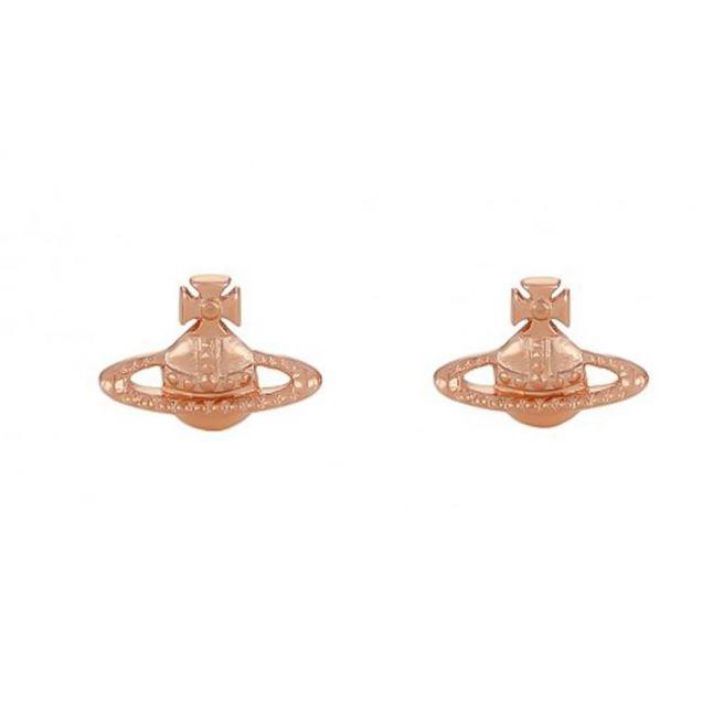 Womens Pink Gold Farah Earrings
