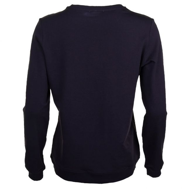 Versace Womens Black Sfere Light Sweater