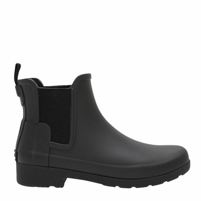 Womens Black Matte Original Refined Chelsea Boots