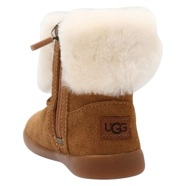 Toddler Chestnut Ramona Bow Boots (5-9)