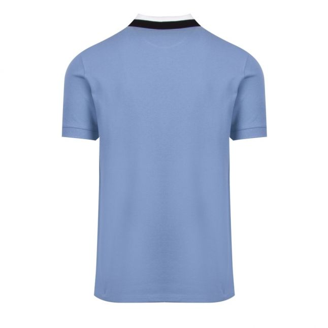 Mens Cool Blue Ampere S/s Polo Shirt