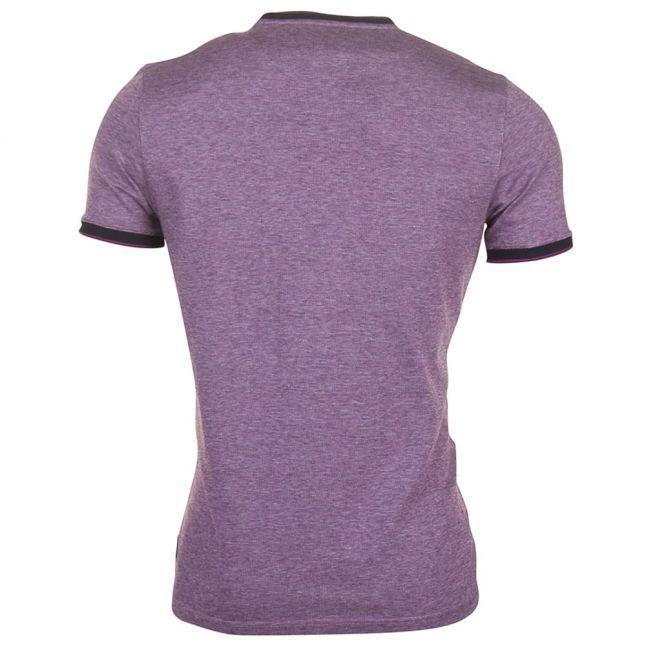 Mens Purple Richie S/s Tee Shirt