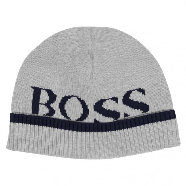Baby Grey Branded Knitted Hat