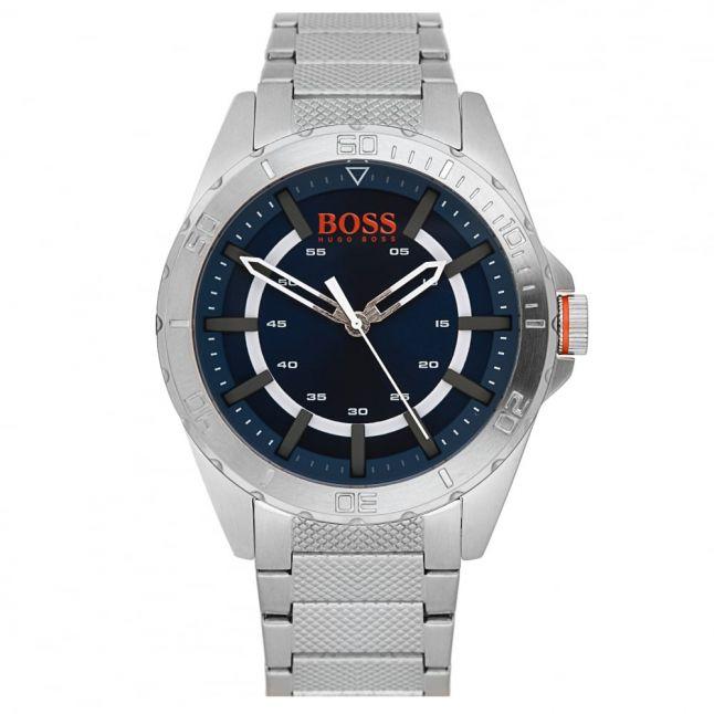 Watches Mens Blue Dial Berlin Bracelet Strap Watch