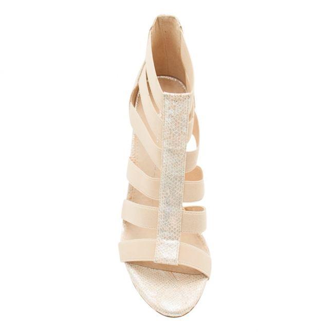 Womens Nude Silvera Heel