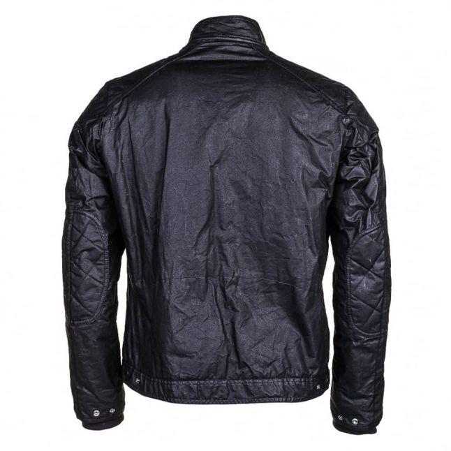 Mens Black Oil Waxed Jacket