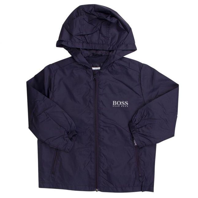 Boss Boys Navy Windbreaker Coat