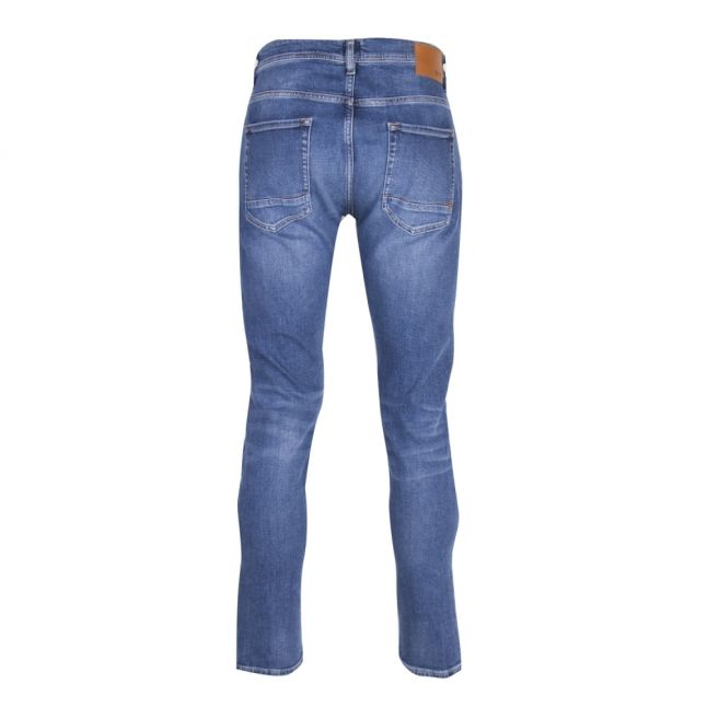 Casual Mens Medium Blue Taber Tapered Jeans
