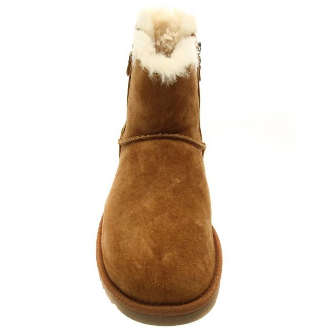 Australia Womens Chestnut Classic Mini Double Zip Boots