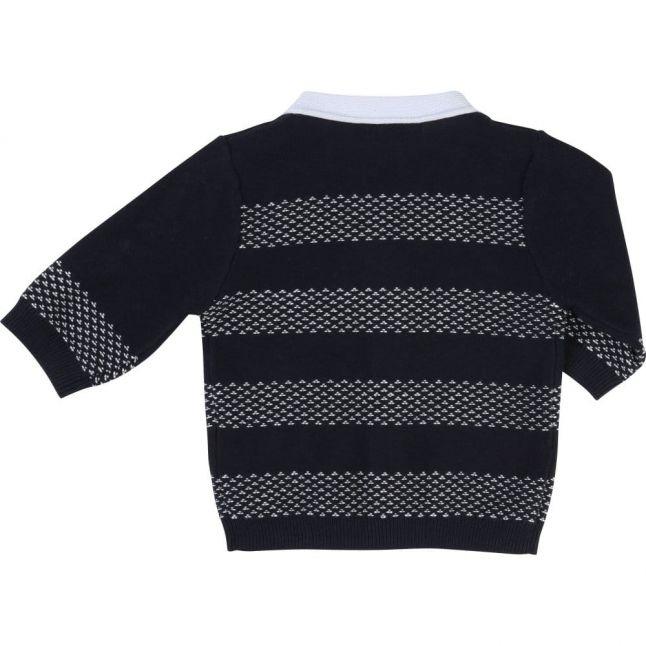 Baby Navy Striped Cardigan