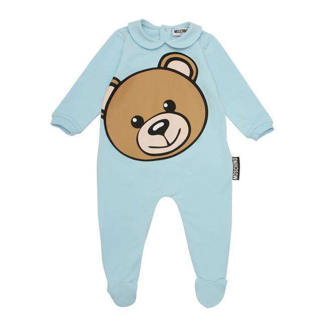 Baby Sky Blue Big Toy Babygrow Gift