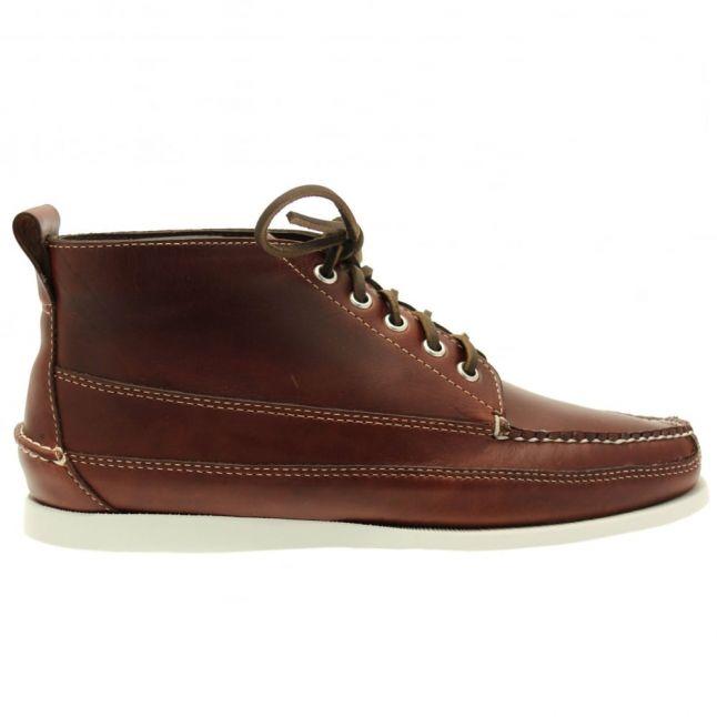 Mens Dark Brown Camp Moc Ranger Boots