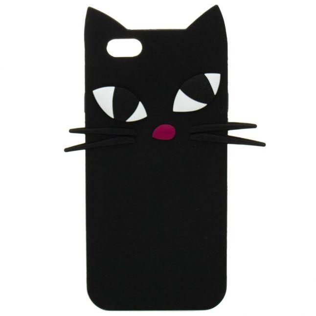Womens Black Kooky Cat iPhone 6 Case