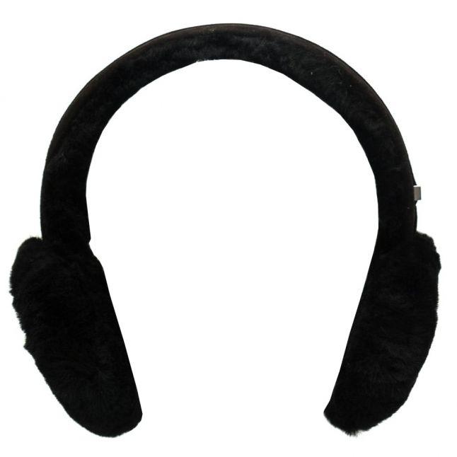Womens Black Classic Wired Earmuffs