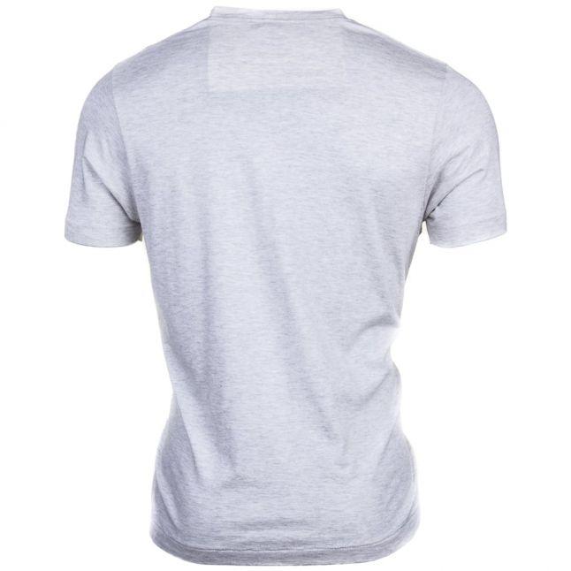 Mens Original Grey Small Logo S/s Tee Shirt