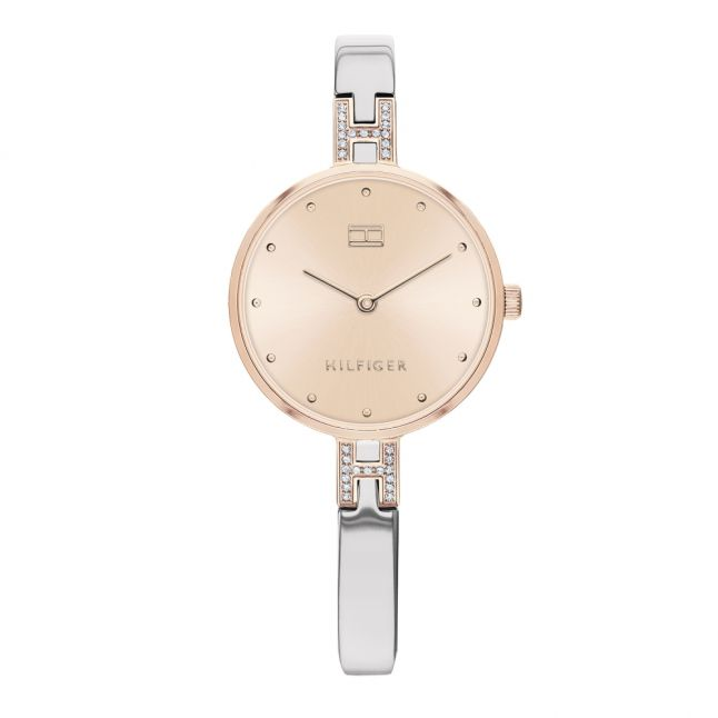 Womens Blush/Silver Bracelet Watch