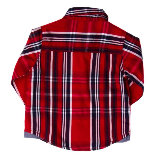 Baby Red Check L/s Shirt