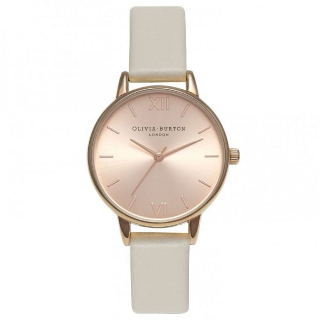 Womens Mink & Rose Gold Midi Dial Watch