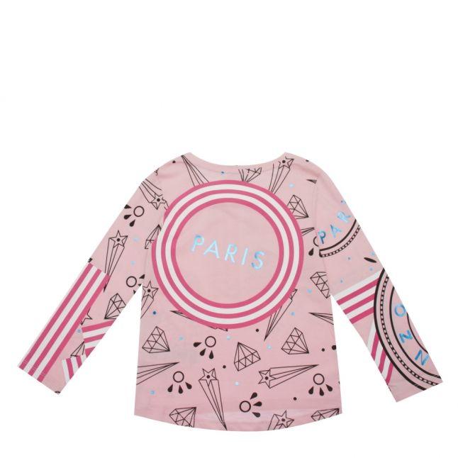 Junior Bubble Pink Geeka L/s T Shirt