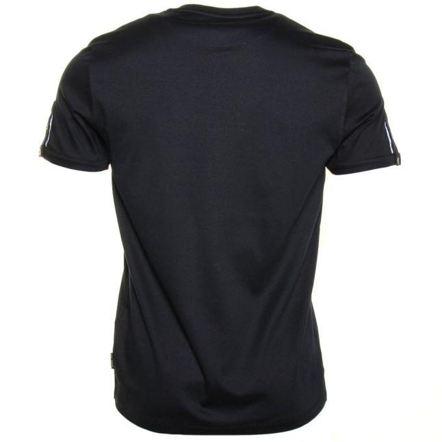 Mens Navy Shortay Henley S/s Tee Shirt