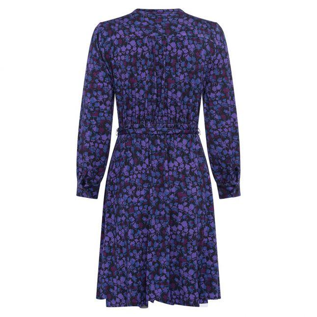 Womens Dazzling Blue Bethany Meadow Shirt Dress