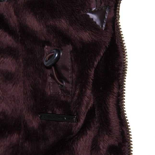 Womens Rustic Ratio Hooded Waxed Jacket