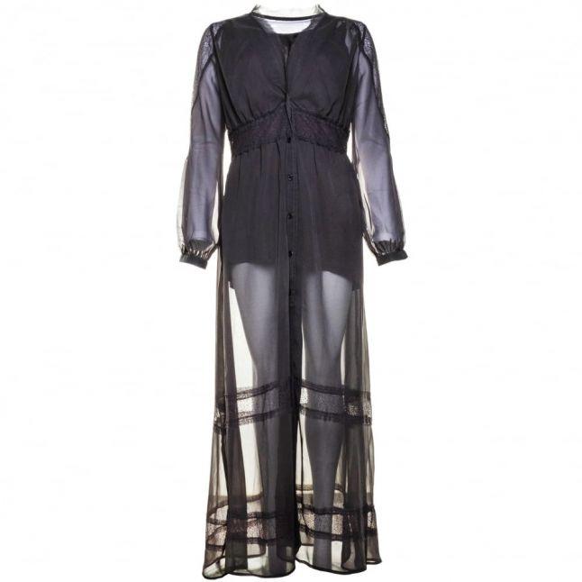 Womens Dark Grey Marl Unite Maxi Dress