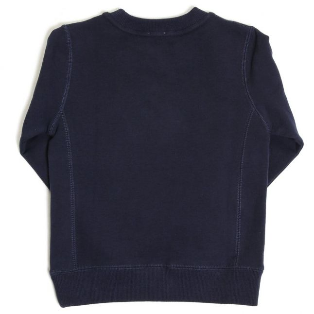 Boys Dark Navy Johan Crew Sweat Top
