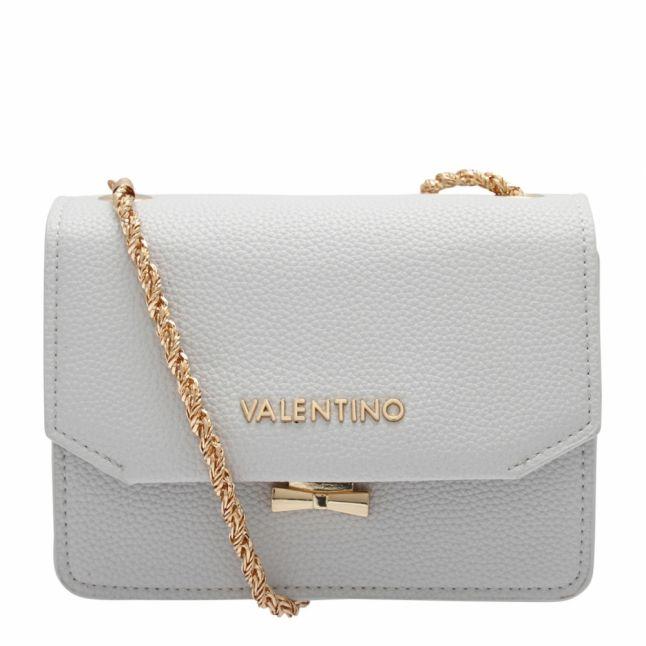 Womens Grey Sfinge Mini Chain Crossbody Bag