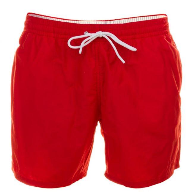 Mens Cherry Red Swim Shorts
