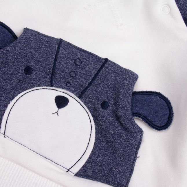 Baby Blue Bear Crew Tracksuit