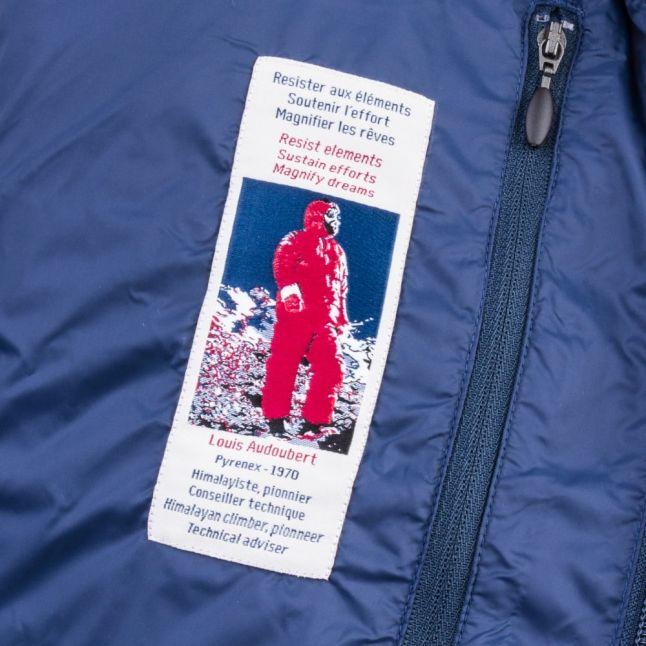 Mens Vintage Blue Montardo Sport Jacket