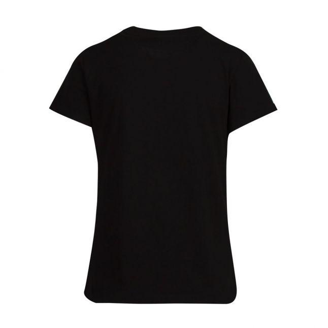 Womens Black The Slim Tee Patch S/s T Shirt