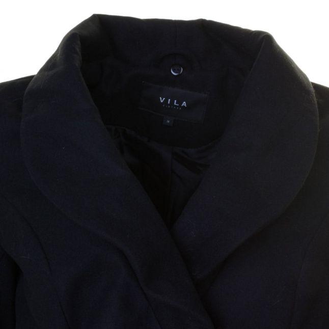 Womens Black Vikanja Coat