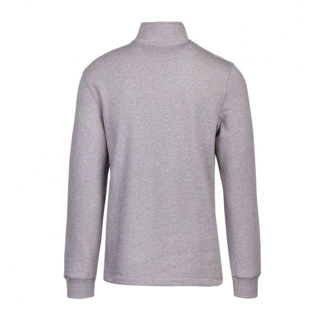 Mens Light Grey Kilbrn 1/2 Zip Sweat Top