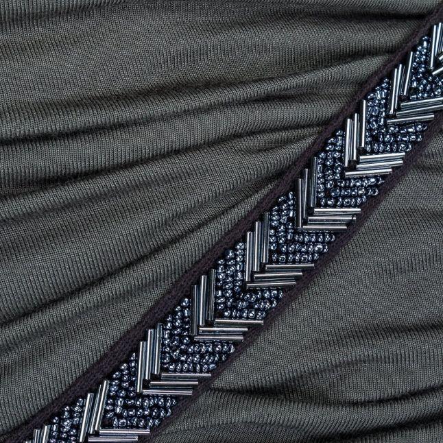 Womens Black Ink Lust Maxi Dress