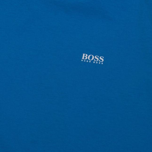 Athleisure Mens Bright Blue Tee Small Logo S/s T Shirt