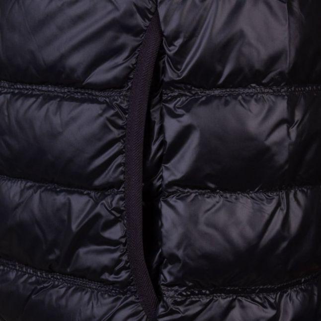 Ea7 Mens Black Training Core Identity Down Jacket