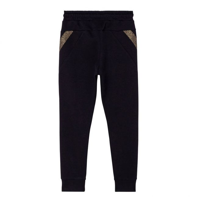 Boys Black Gold Pixel Sweat Pants