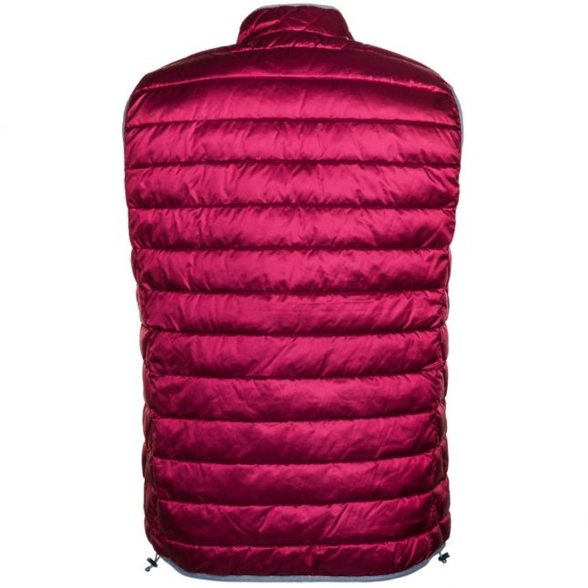 Mens Mineral Red Aerons Padded Gilet