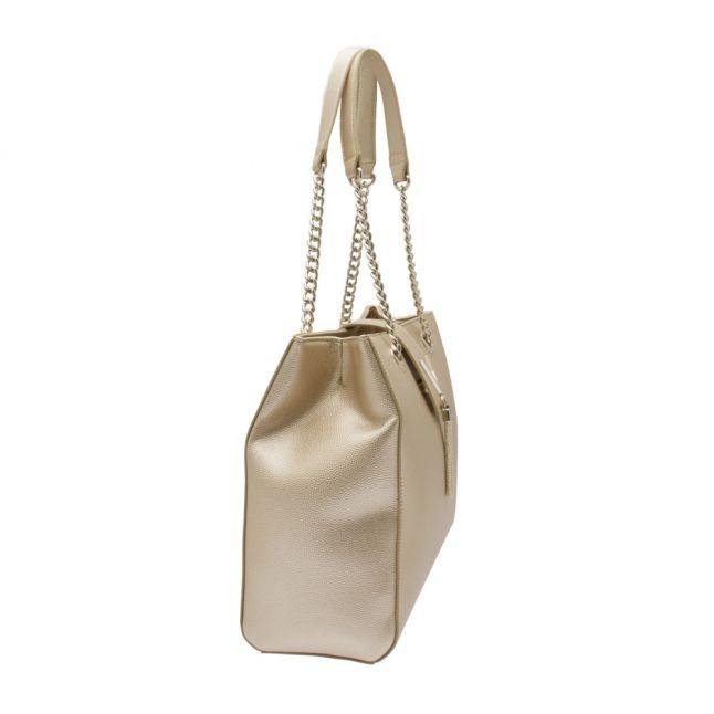 Womens Gold Divina Large Tote Bag