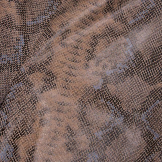 Womens Tigers Eye Visnaky Snake Foil Leggings